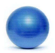 Piłka gimnastyczna BL003 55 cm niebieska