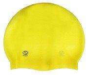 Czepek basenowy SMJ Masaż 305 żółty