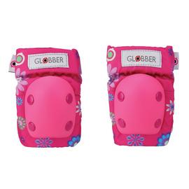 Ochraniacze na łokcie i kolana Globber 529-003 Flowers Pink
