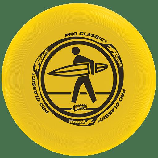FRISBEE Wham-O PRO CLASSIC 130 g  zółty