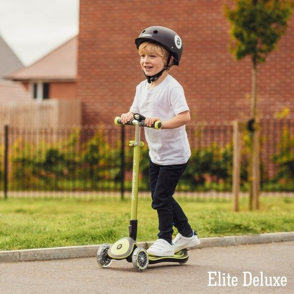 Hulajnoga 3-kołowa Globber Elite Deluxe 444-210 Pink