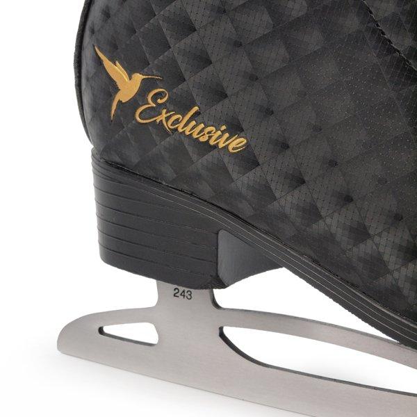 Łyżwy figurowe SMJ sport  Exclusive czarne