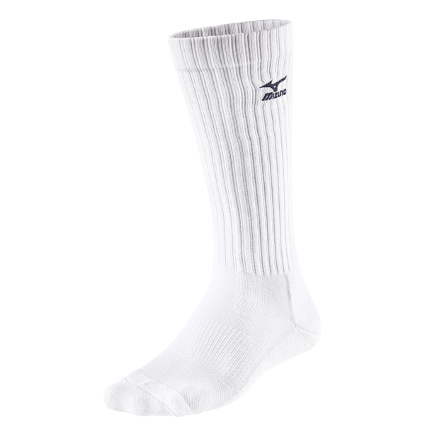 Skarpety Mizuno Volley Socks Long białe